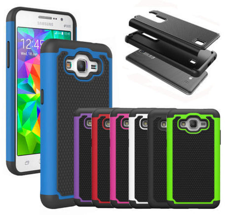 Rugged Armor Protective Hard Case Cover - Galaxy Note 2