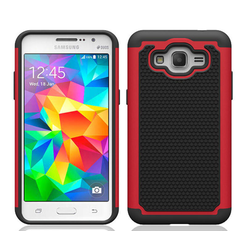 Rugged Armor Protective Hard Case Cover - Galaxy Note 3