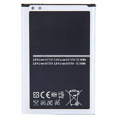 Samsung Galaxy Note 2  Replacement Battery 3100 mAh