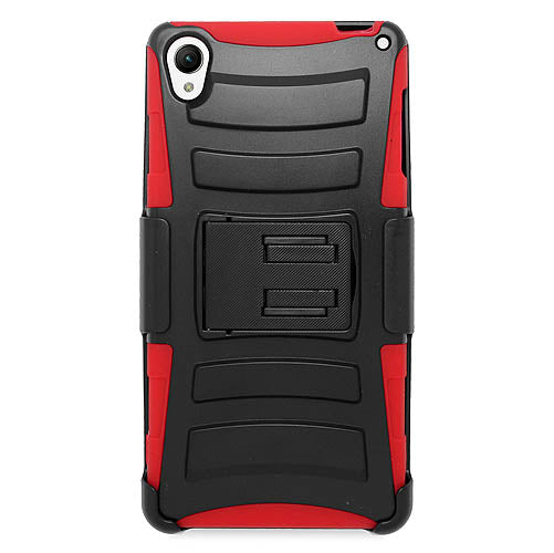 Rugged Armor Hard Case Cover with Belt Clip - Sony Xperia Z3