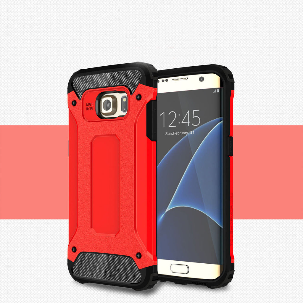 Rugged Armor Protective Hard Case Cover - Galaxy S6