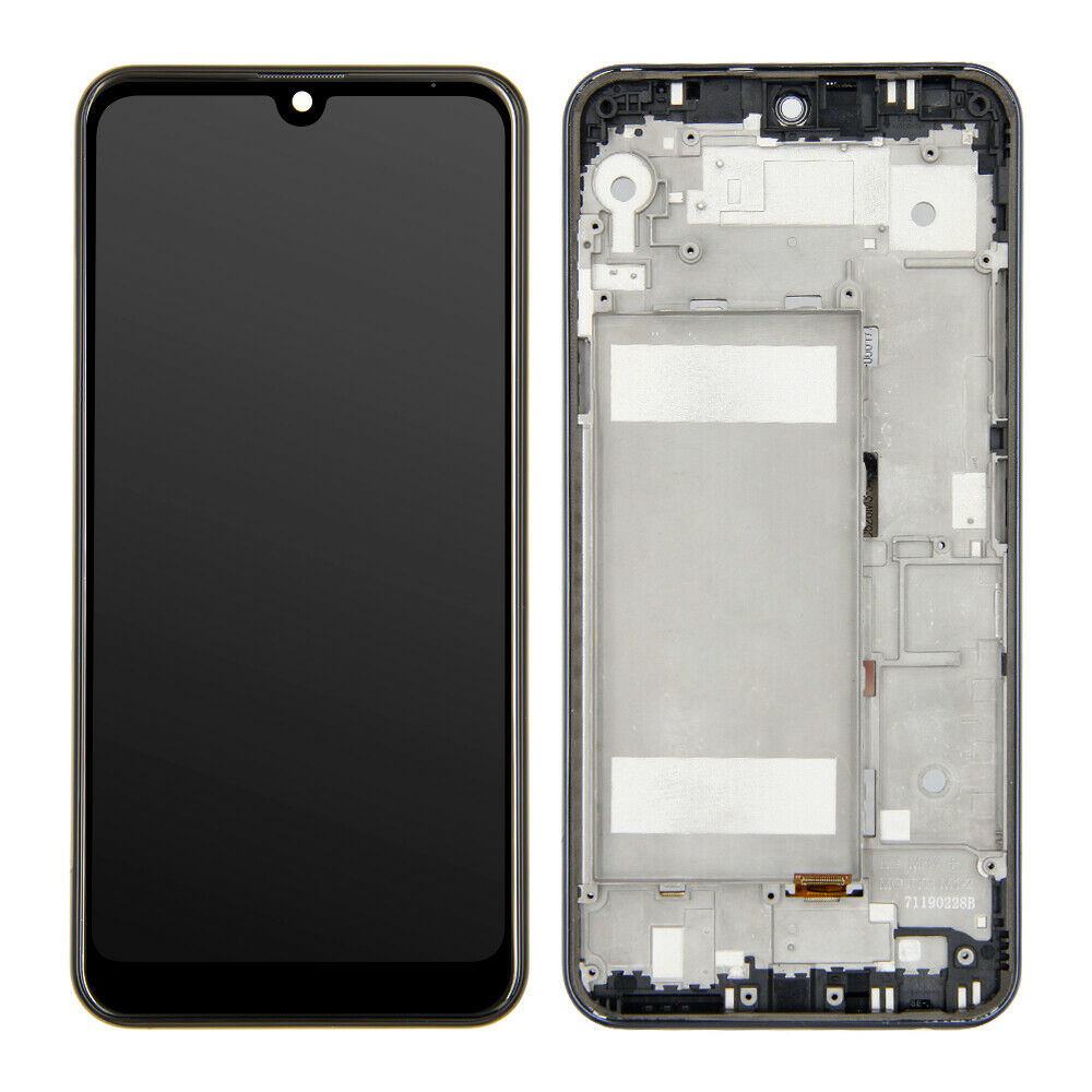 Lg K50 Screen Replacement Glass LCD + Touch Digitizer + FRAME Premium Repair Kit LMX520BMW LMX520EMW LM-X520