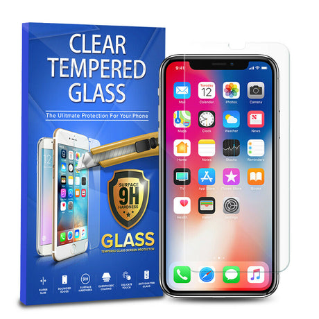 iPhone XS Tempered Glass Screen Protector