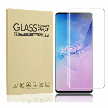Premium Samsung Galaxy S10 Tempered Glass Screen Protector- Full Coverage