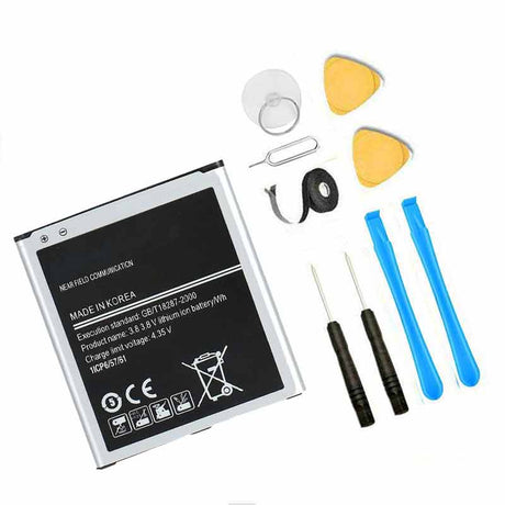 Samsung Galaxy J3 Prime Battery Replacement Premium Repair Kit + Tools J327