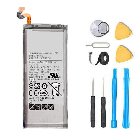 Samsung Galaxy Note 8 Battery Replacement Premium Repair Kit + Tools N950 EB-BN950ABE