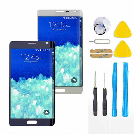 Samsung Galaxy Note Edge Screen Replacement + LCD + Touch Digitizer Premium Repair Kit  - Black or White