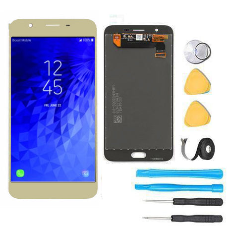 Samsung Galaxy J7 Refine Screen Replacement LCD and Digitizer Premium Repair Kit 2018 J737P - Gold