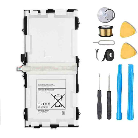 "Samsung Galaxy Tab S 10.5"" T800 T801 T805 T807 Battery Replacement Premium Repair Kit + Tools"