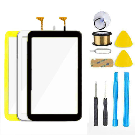 "Samsung Galaxy Tab 3 7"" P3200 P3210 T210 T211 T2105 Glass Screen Replacement + Touch Digitizer Premium Repair Kit SM-T2105"