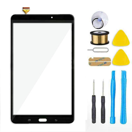 Samsung Galaxy Tab A 8.0 T380 Screen Replacement Glass Repair Kit T385 2017 - Black