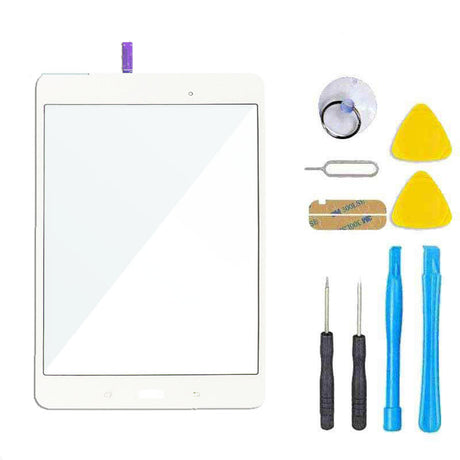 Samsung Galaxy Tab A 8.0 T350 T357 T355 T357 Screen Replacement Glass + Touch Digitizer Replacement Repair Kit SM-T350 - White