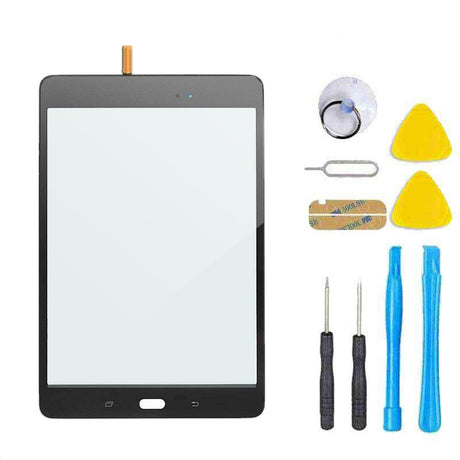Samsung Galaxy Tab A 8.0 T350 T357 T355 T357 Screen Replacement Glass + Touch Digitizer Replacement Repair Kit SM-T350 - Black
