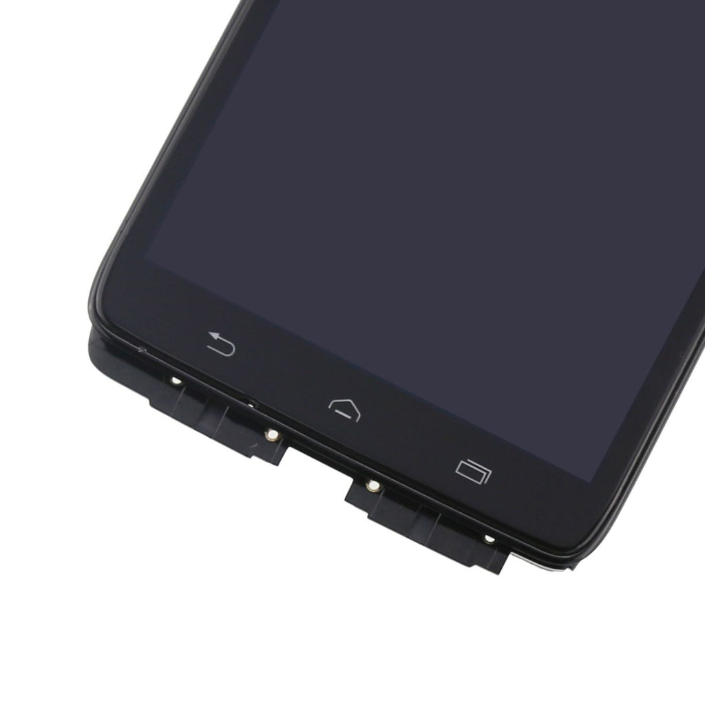 Motorola Droid Ultra & Maxx Screen Replacement + LCD + Digitizer + Frame + Premium Repair Kit  - Black