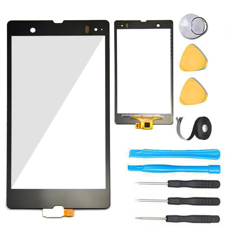 Xperia Z Glass Screen Replacement parts plus tools