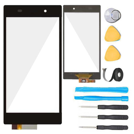 Xperia Z1 Glass Screen Replacement parts plus tools