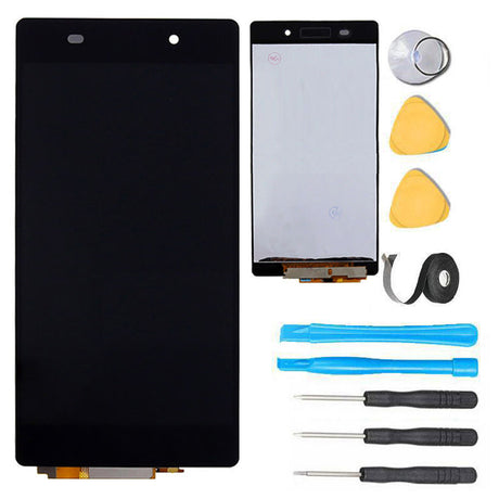 Sony Xperia Z2 Screen Replacement LCD Digitizer Repair Kit D6502 D6503 D6543 L50W - Black