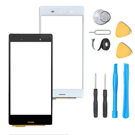 Sony Xperia Z5 Glass Screen Replacement + Touch Digitizer Premium Repair Kit E6603 | E6633 | E6653 | E6683- Black or White