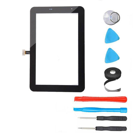 "Samsung Galaxy Tab 2 (7"") Glass Screen Replacement Digitizer Replacement Repair Kit P3100 