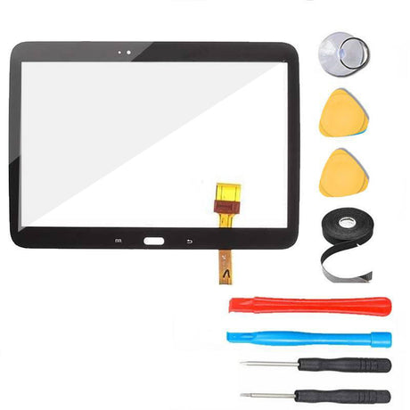 "Samsung Galaxy Tab 3 (10.1"") Glass Screen and Touch Digitizer Replacement Premium Repair Kit  - Black"