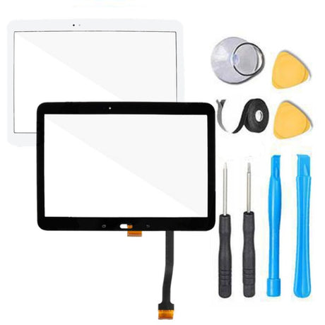 "Samsung Galaxy Tab 4 (10.1"") Glass Screen Replacement parts plus tools"