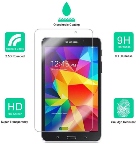 "Premium Samsung Galaxy Tab 4 (7"")Tempered Glass Screen Protector"