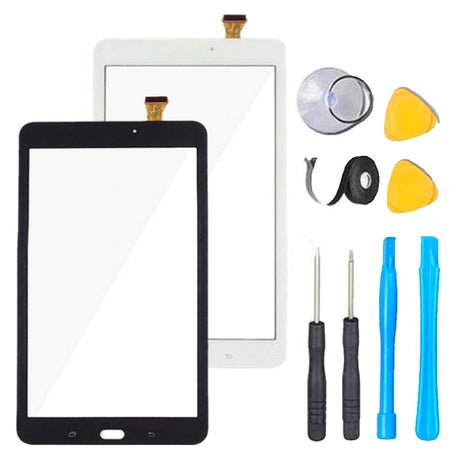 Samsung Galaxy Tab E 8.0 Screen Replacement Glass + Touch Digitizer Repair Kit  T377A | T377P  | SM-T377 | SM- T378 - Black or White
