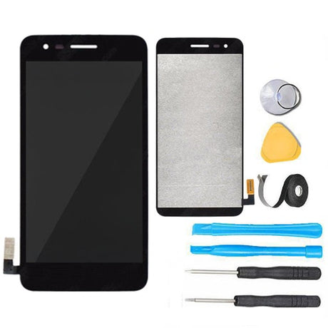 LG Rebel 2 Glass Screen Replacement LCD + Touch Digitizer Premium Repair Kit L57BL L58VL - Black