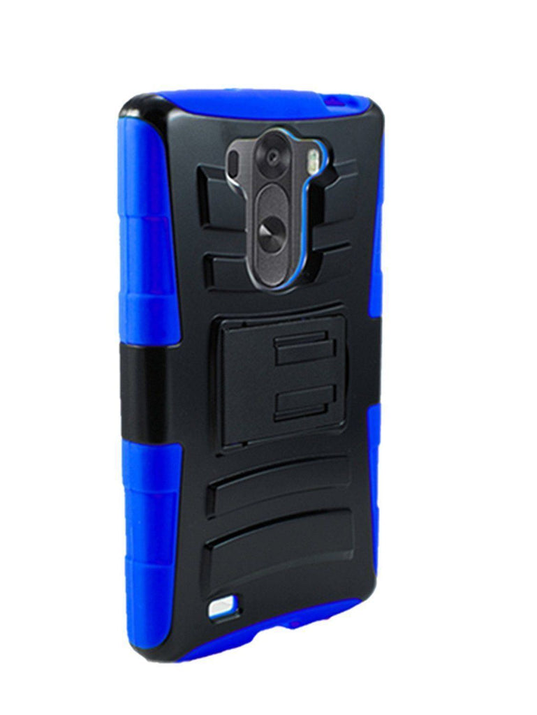 Rugged Armor Hard Case Cover with Belt Clip - LG G Vista