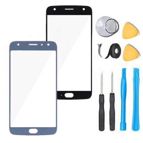 Moto X4 (X 4th) Glass Screen Replacement parts plus tools