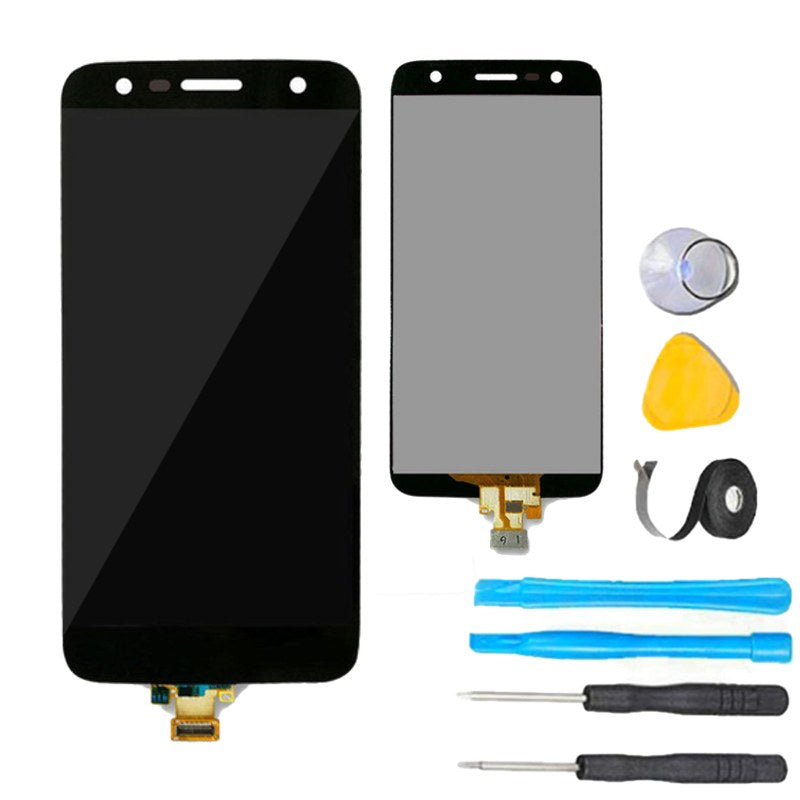 Lg x charge screen replacement lcd kit phone remedies phoneremedies lg x charge glass screen replacement lcd touch digitizer premium repair kit x500 black solutioingenieria Image collections