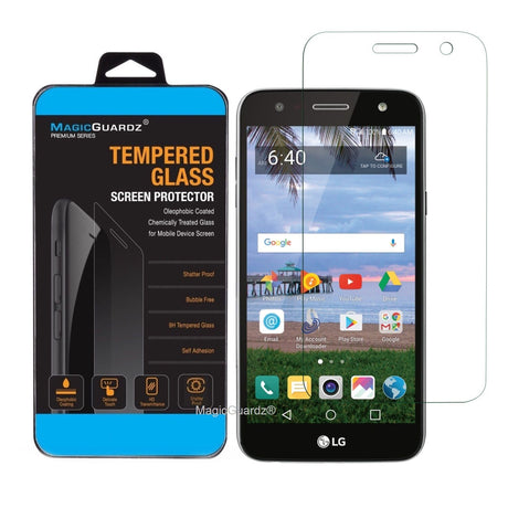 Premium LG X Charge Tempered Glass Screen Protector