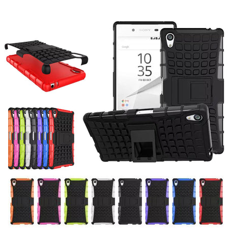 Rugged Armor Hard Case Cover - Sony Xperia Z3 Mini
