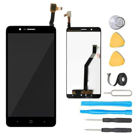 ZTE ZMAX Pro 2 Screen Replacement LCD + Digitizer Premium Repair Kit Z982- Black