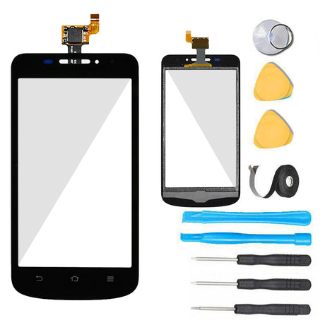 ZTE Avid 4G Glass Screen Replacement + Touch Digitizer Replacement Premium Repair Kit N9120 - Black