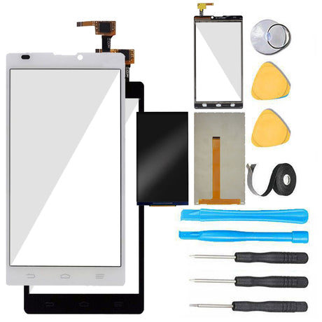 ZTE Blade L2  Glass Screen Replacement LCD + Digitizer Assembly Premium Repair Kit - Black or White