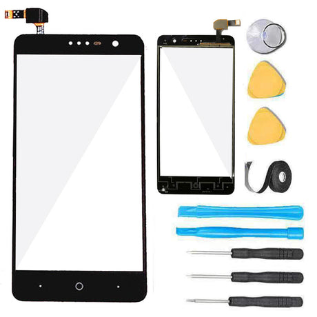 ZTE Grand X4 Screen Replacement Glass Touch Digitizer Premium Repair Kit X 4 5.5 Z956 -  Black