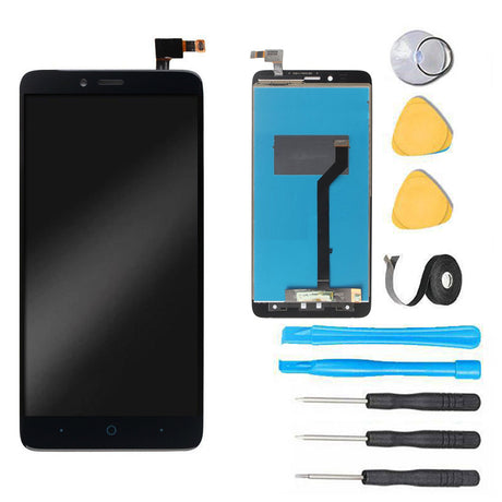 ZTE Grand X MAX 2 Screen Replacement LCD  Digitizer Assembly Premium Repair Kit Z988- Black
