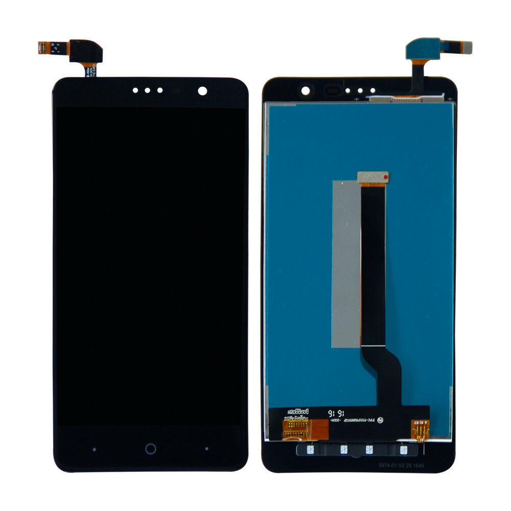 ZTE Grand X4 Screen Replacement LCD  Digitizer Assembly Premium Repair Kit Z956- Black