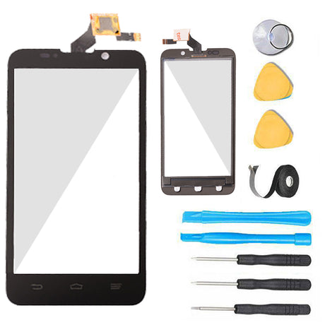 ZTE Majesty Glass Screen Replacement + Touch Digitizer Premium Repair Kit Z796C - Black