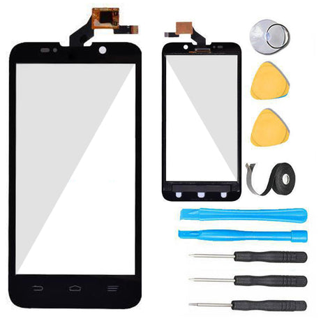 ZTE Rapido LTE Glass Screen Replacement + Touch Digitizer Replacement Premium Repair Kit Z932L- Black