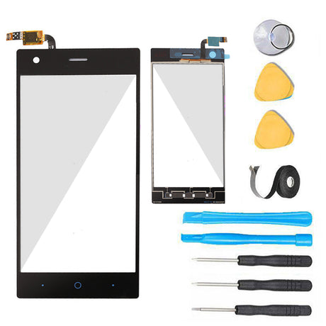 ZTE Warp Elite LTE Glass Screen Replacement + Touch Digitizer Premium Repair Kit N9518 -  Black