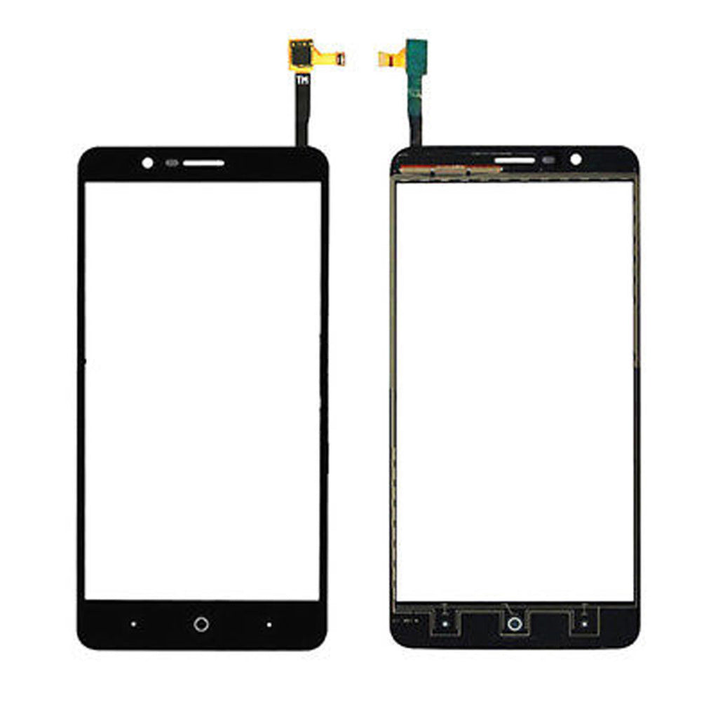 "ZTE Blade Z Max Glass Screen Replacement + Touch Digitizer Premium Repair Kit 6"" Z982-  Black"