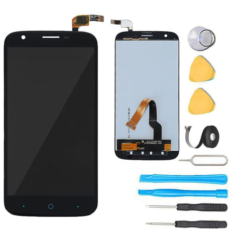 ZTE Grand X3 Screen Replacement LCD  Digitizer Assembly Premium Repair Kit Z959- Black