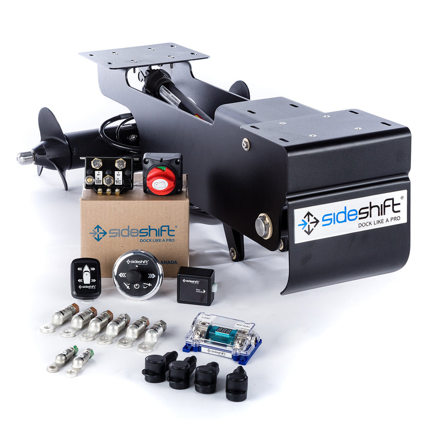 HB350 Retractable Houseboat Thruster