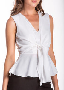LILLY TIE FRONT TOP