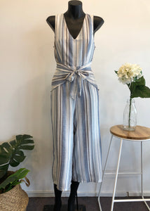 SHELLEY STRIPE JUMPSUIT