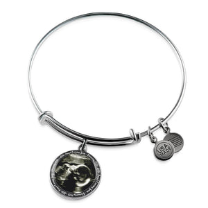 Custom Baby Ultrasound Sonogram Bangle