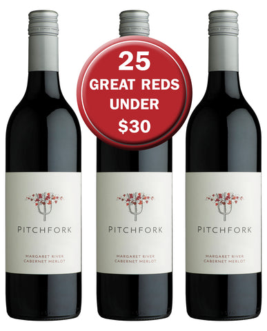 Hay Shed Hill Margaret River Pitchfork Cabernet Merlot Halliday 25 Great Reds under $30