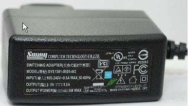 Charger for hp Digital Camcorder v5040u (usb, 5V)